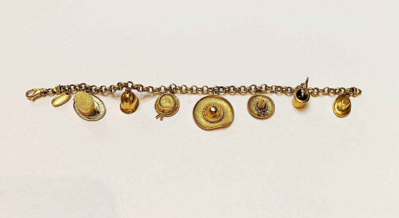 18 karaat gouden armband Sidra Brev  - Goudcentrum.nl