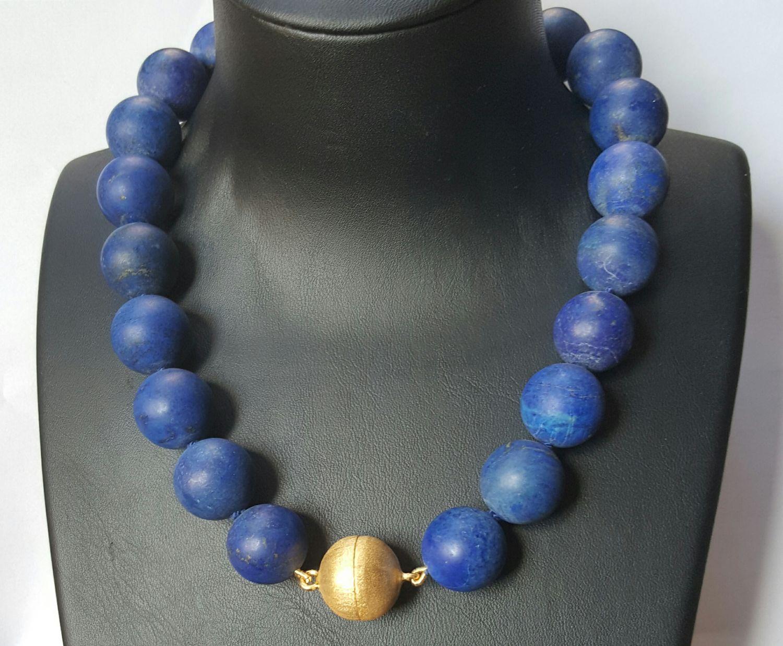 Lapis lazuli collier - Goudcentrum.nl