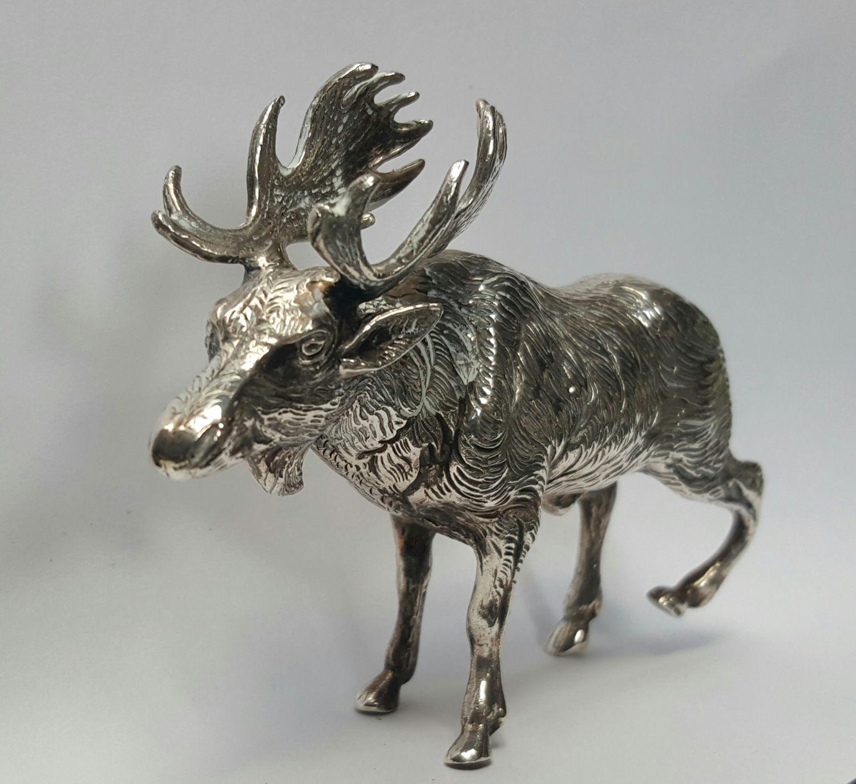 Eland zilveren miniatuur  - Goudcentrum.nl