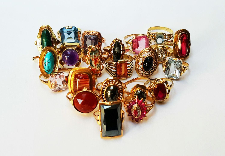 Collectie vintage ringen  - Goudcentrum.nl