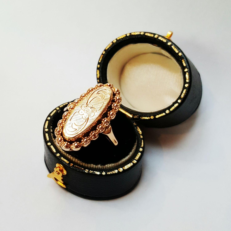 Antiek gouden ring  - Goudcentrum.nl